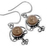 Wholesale Extended Line of Wholesale Earrings (Product ID = 10086_E_Smoky_Topaz_3.30)