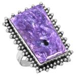 Wholesale Extended Line of Wholesale Rings (Product ID = 16605_R7_Siberia_Charoite_8.20)