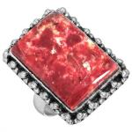 Wholesale Extended Line of Wholesale Rings (Product ID = 16615_R5_Pink_Thulite_6.90)
