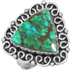 Wholesale Extended Line of Wholesale Rings (Product ID = 16902_R7_Mal._In_Chrysocolla_5.50)