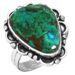 Wholesale Extended Line of Wholesale Rings (Product ID = 16908_R7_Mal._In_Chrysocolla_4.40)