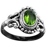 Wholesale Sterling Silver Gemstone Rings (Product ID = rn40prf)